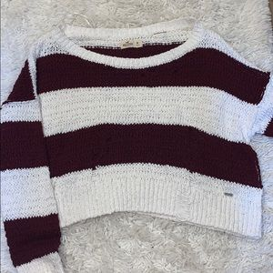 Hollister cropped sweater!